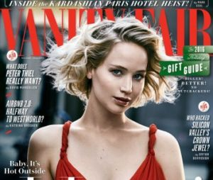 Revista Vanity Fair com Jennifer Lawrence