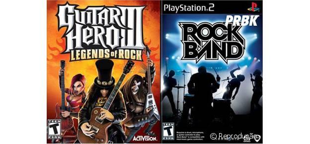 """Os pioneiros games de música """"Rock Band"""" e """"Guitar Hero"""" passam por uma fase de saturação sem nova jogabilidade"""