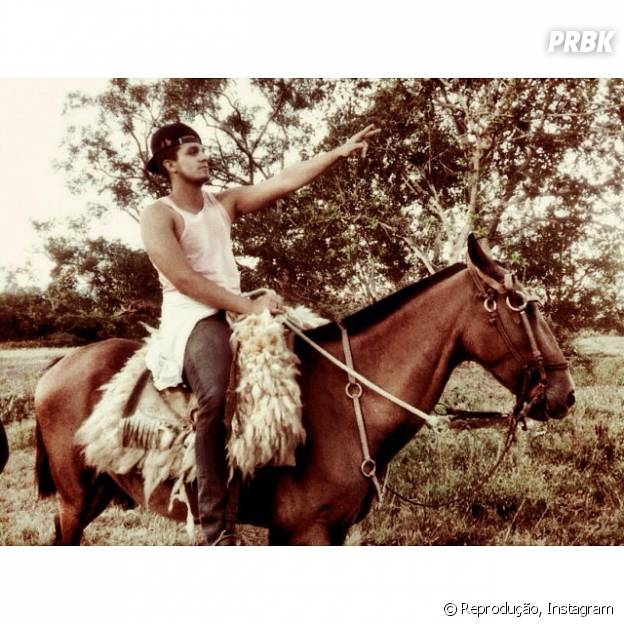 Luan Santana ama os animais