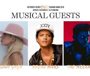 Victoria's Secret Fashion Show 2016 confirma shows deLady Gaga, Bruno Mars e The Weeknd