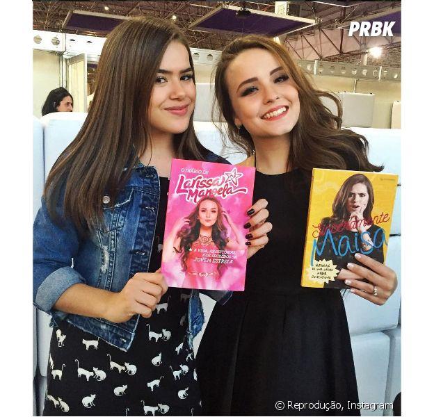 """Larissa Manoela e Maisa Silva falam sobre boatos sobre serem inimigas: """"A gente não tem amizade sincera, né?"""""""