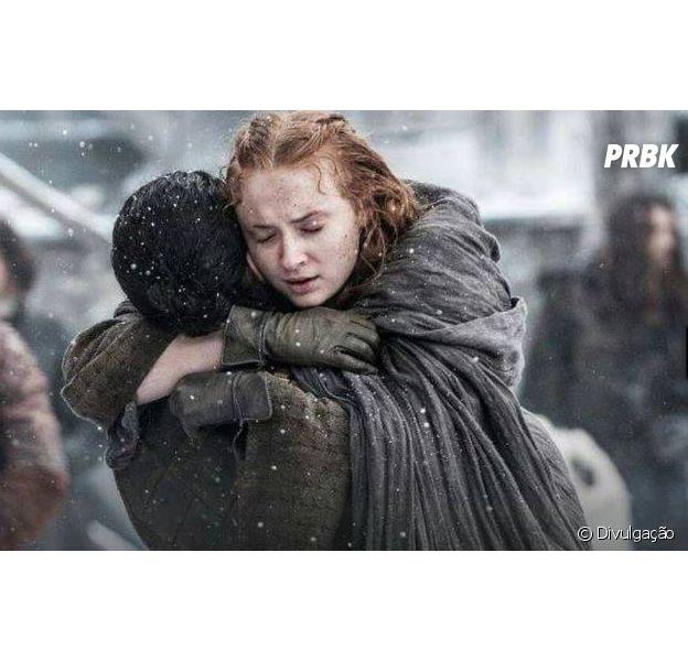 """Em """"Game of Thrones"""", Sansa (Sophie Turner) vai trair Jon Snow (Kit Harington)? Atriz fala sobre possível desavença!"""