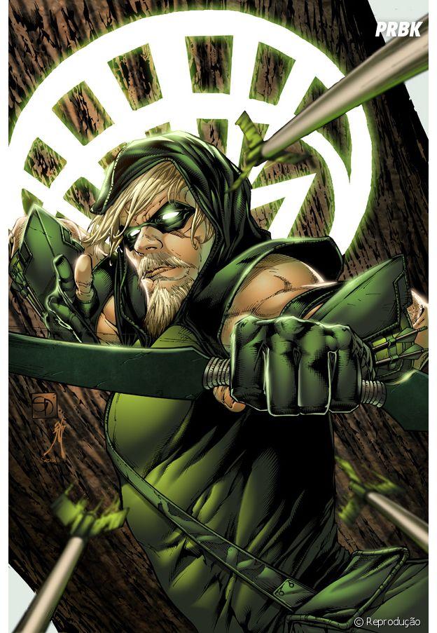 Oliver Queen já está atuando como o Arqueiro Verde desde 1941!