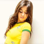 """Camila Cabello, do Fifth Harmony, comemora retorno ao Brasil: """"Voltando pra minha casa"""""""