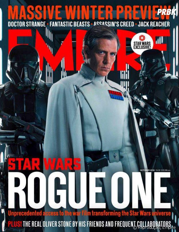 """Em """"Rogue One - Uma História Star Wars"""", tem vilão novo junto a Darth Vader"""