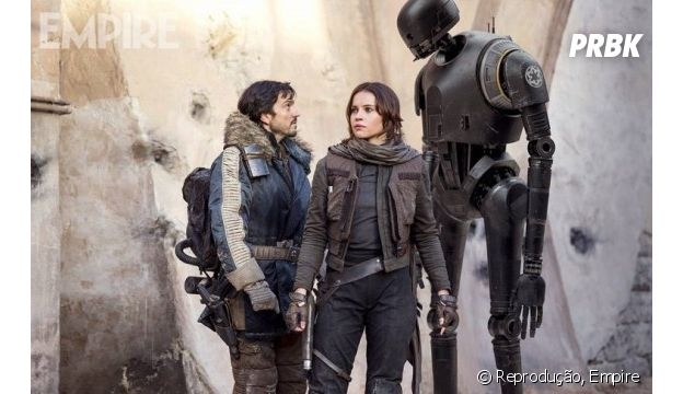 """A trama de """"Rogue One - Uma História Star Wars"""" tem novo droide apaixonante!"""