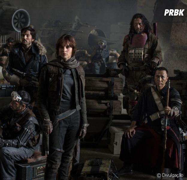 """""""Rogue One - Uma História Star Wars"""" é sucesso da saga!"""