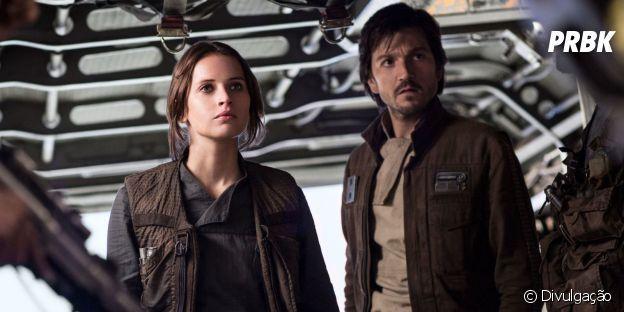 """""""Rogue One - Uma História Star Wars"""" tem novos protagonistas"""