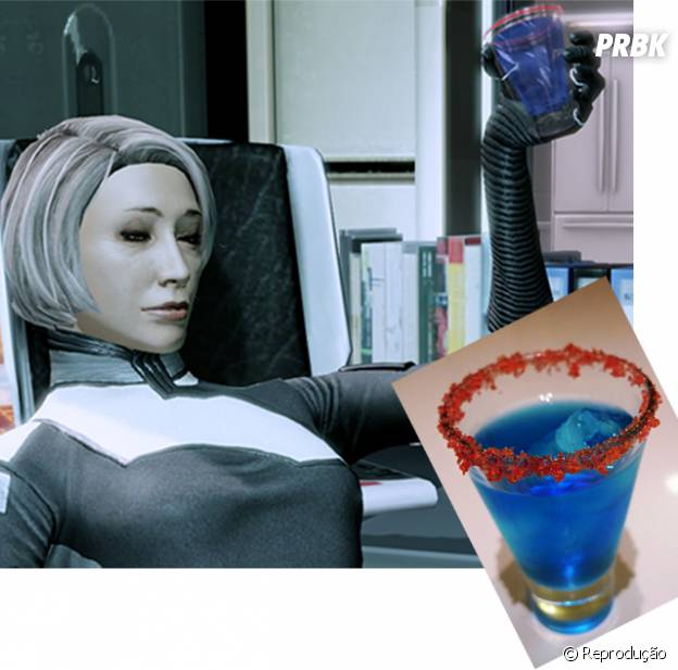 """Mass Effect 2"", o drink favorito da Dra Chakwas, Serrice Ice Brandy"
