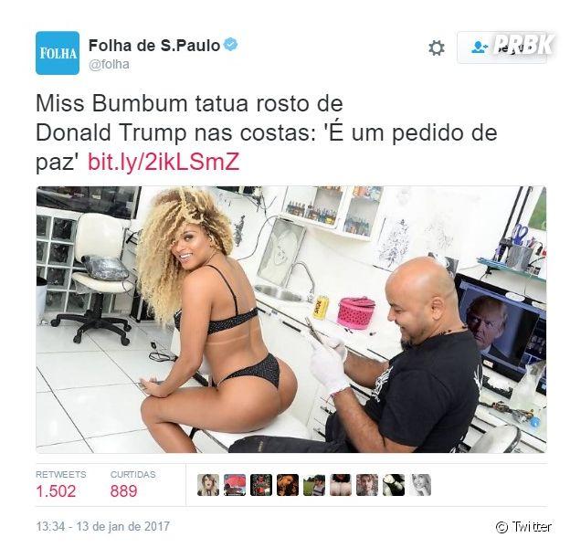 Assim como a Miss Bumbum, veja outras vezes que o melhor do Brasil foi o brasileiro
