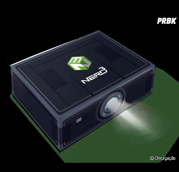 Nerd ao Cubo traz caixa que vira projetor para celular!
