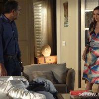 """Na trama """"Em Família"""": Luiza pede perdão a Virgílio por separação dele e Helena"""