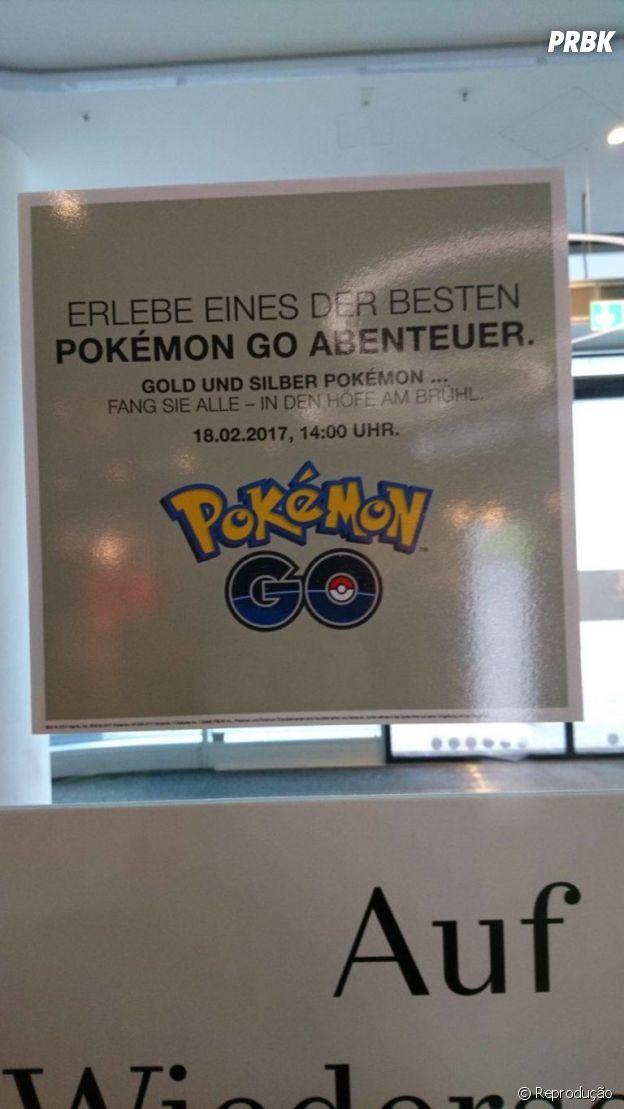 """""""Pokémon GO"""" pode lançar 2ª geração nesse sábado (18)"""