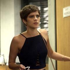 "Novela ""A Lei do Amor"": Letícia (Isabella Santoni) descobre câncer outra vez e raspa a cabeça!"