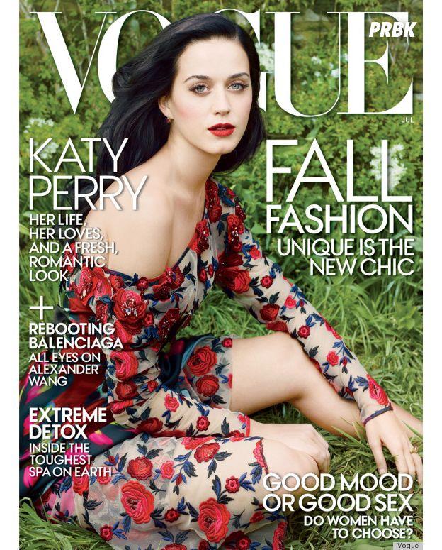 Katy Perry na capa da Vogue Magazine