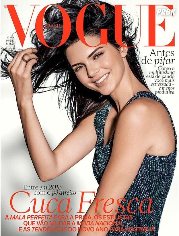 Kendall Jenner na capa da Vogue Magazine
