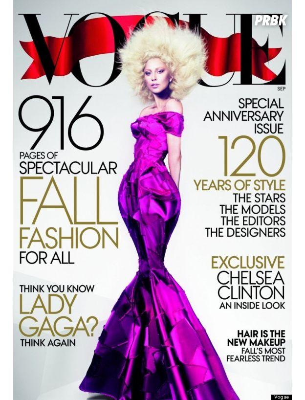 Lady Gaga na capa da Vogue Magazine