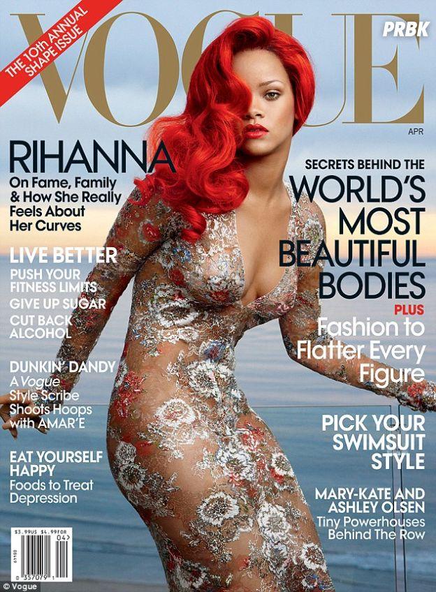 Rihanna na capa da Vogue Magazine