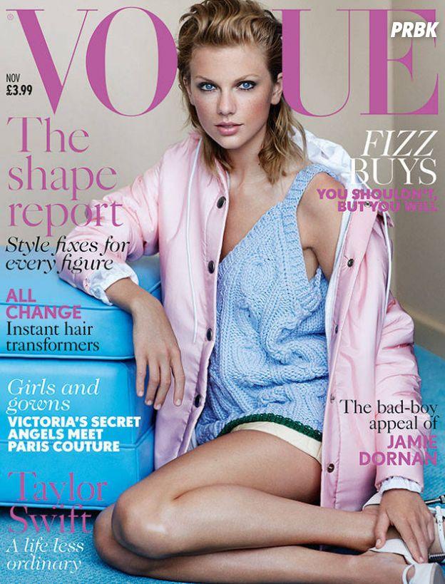 Taylor Swift na capa da Vogue Magazine