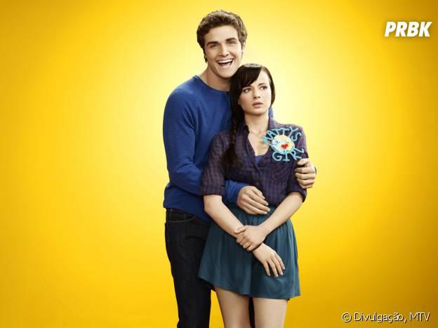 "Em ""Awkward"", Jenna (Ashley Rickards) e Matty (Beau Mirchoff) eram namorados"