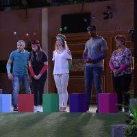 """No """"BBB17"""": Emilly, Marcos e Marinalva disputam última prova do Líder após ajuda de familiares!"""