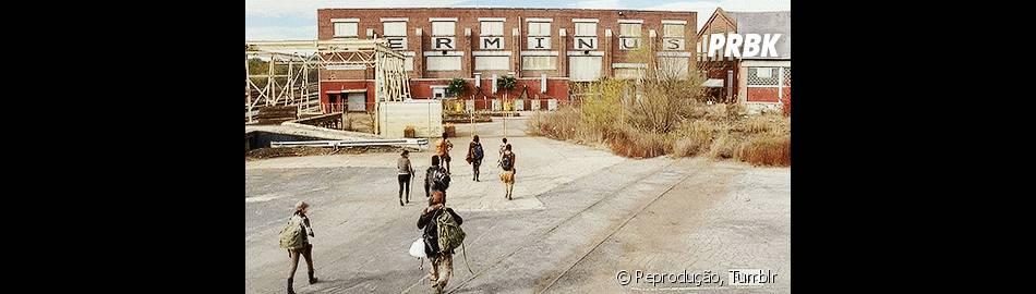 """""""Terminus"""" será um dos focos da quinta temporada de """"The Walking Dead."""