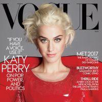"""Katy Perry é capa da Vogue e fala sobre sua nova fase: """"Se você tem voz, você tem responsabilidade"""""""