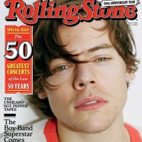 Harry Styles é capa da Rolling Stone e fala sobre One Direction, Taylor Swift e 1º álbum solo!
