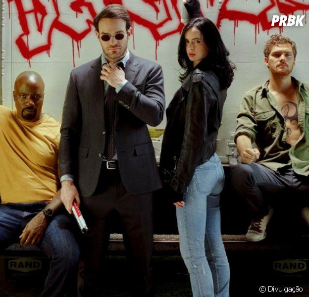 """Netflix libera primeiro trailer oficial de """"Os Defensores"""" e mostra os quatro protagonistas lutando juntos"""