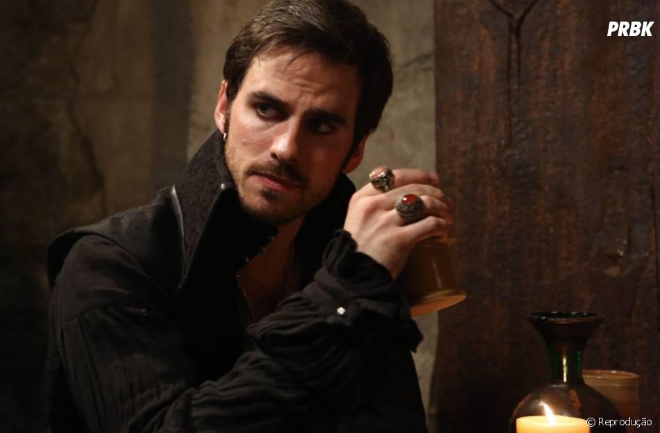 """Hook (Colin O'Donoghue), o Capitão Gancho de """"Once Upon a Time"""", entrou na série na segunda temporada!"""