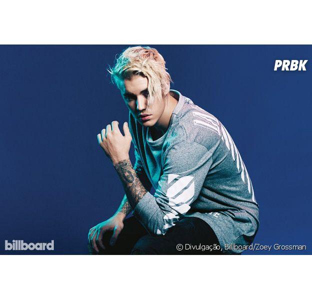 Justin Bieber tira a si mesmo do primeiro lugar das paradas britânicas