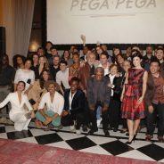 """Novela """"Pega Pega"""": com Camila Queiroz e Vanessa Giácomo, confira tudo que rolou na coletiva!"""