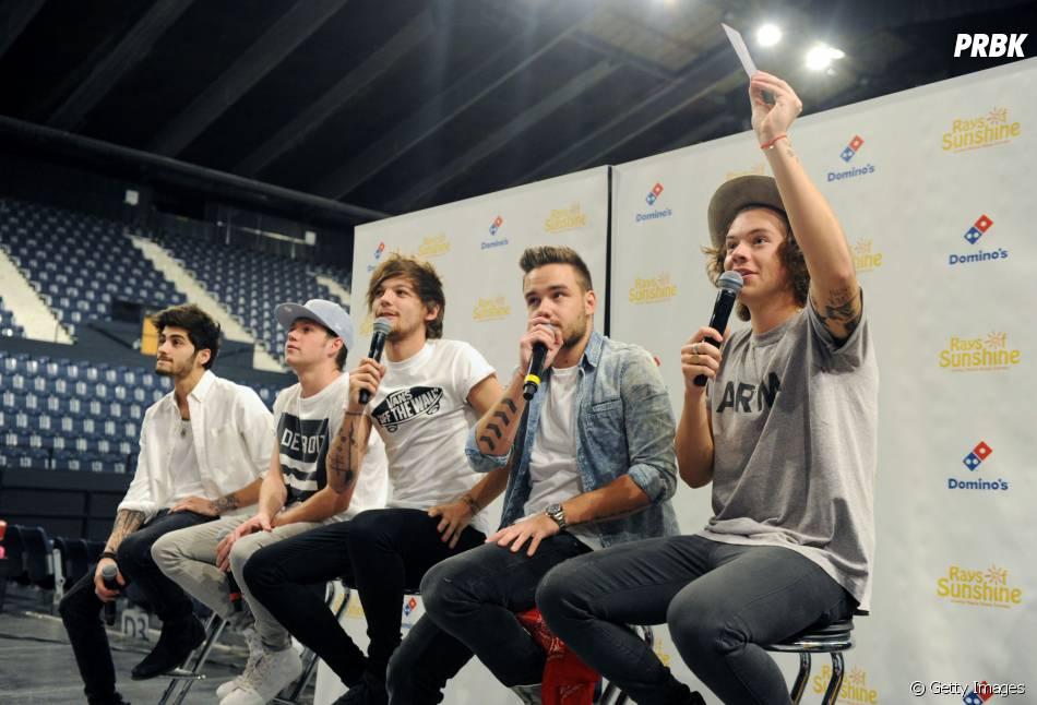O grupo One Direction deve lançar novo CD até o fim do ano