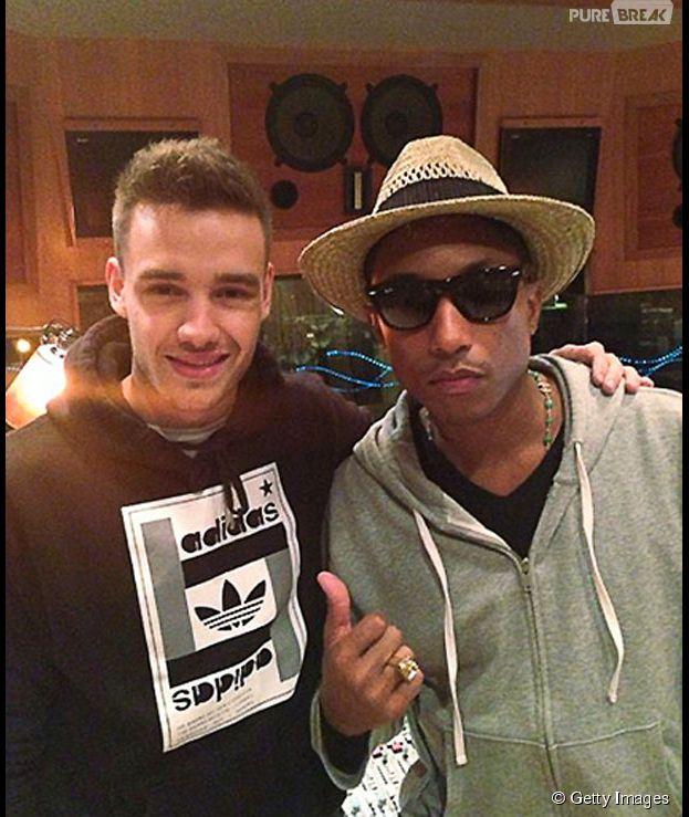 """Pharrell Williams quer que One Direction participe de seu novo álbum: """"Por que não?!"""""""