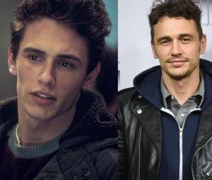 """Antes e depois do elenco do primeiro """"Homem Aranha"""": James Franco"""