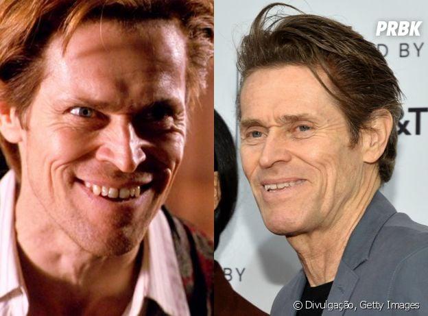 """Antes e depois do elenco do primeiro """"Homem Aranha"""": William Dafoe"""