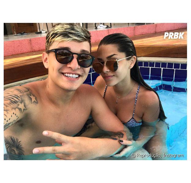 MC Gui e Luiza Cioni  reataram namoro, segundo o próprio cantor!