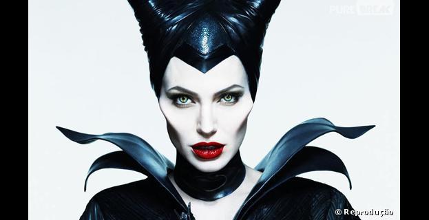 """Angelina Jolie é a protagonista de """"Malévola"""", versão de """"A Bela Adormecida"""" contada pelo ponto de vista da vilã"""