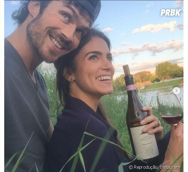 Se Ian Somerhalder e Nikki Reed já estão felizes agora, imagine com a chegada do bebê?