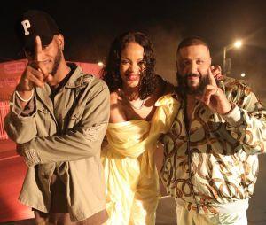 """Rihanna grava clipe de """"Grateful"""" ao lado de DJ Khaled"""