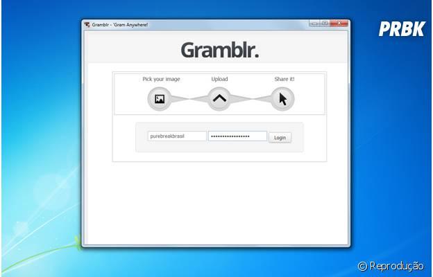 Gramblr, a solução pra quem quer usar o Instagram no PC.