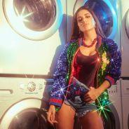 """Anitta participa do programa """"Conversa com Bial"""" e mostra como faz a """"Paradinha"""""""