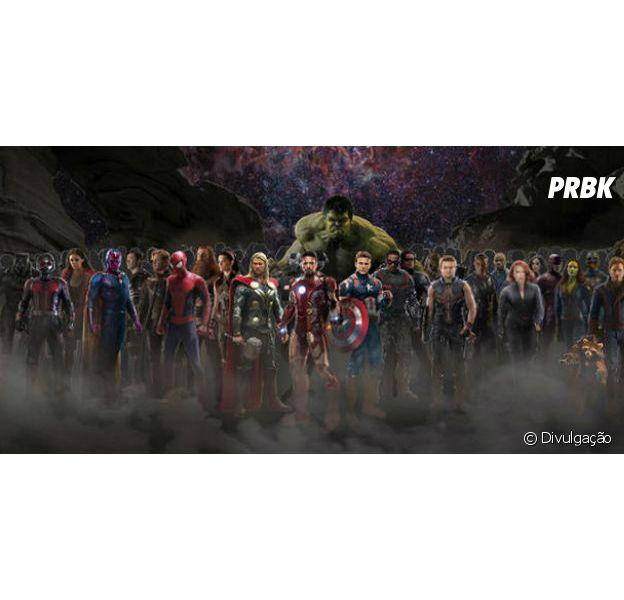 """Nova foto do elenco de """"Os Vingadores: Guerra Infinita"""" é divulgada!"""