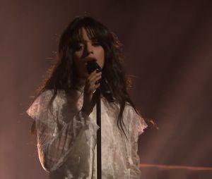 """Camila Cabello canta """"Crying in the Club"""" no programa de Jimmy Fallon"""