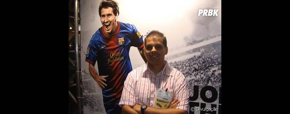 Gilliard Lopez, de FIFA 14 estará na Brasil Game Show2013