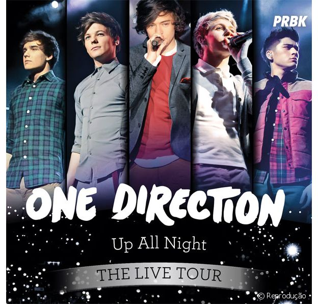 """Up All Night"", a primeira turnê do One Direction"