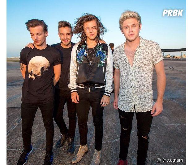 Uma das últimas fotos dos meninos do One Direction postada no Instagram oficial do grupo