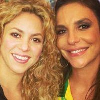 Ivete Sangalo promete surpresas para encerramento da Copa e elogia Shakira