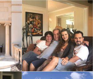Casa do cantor Luciano em Orlando, nos EUA