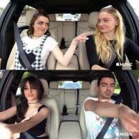 "Camila Cabello, Joe Jonas, elenco de ""Game of Thrones"" e mais participam do ""Carpool Karaoke""!"
